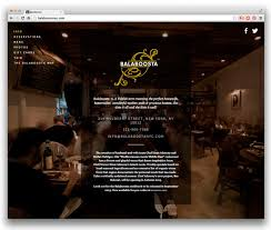 10 well designed restaurant websites powered by squarespace