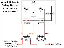 relay wiring diagram with buzzer ignition relay diagram fan