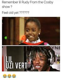 Feeling Old Meme - remember lil rudy from the cosby show feel old yet y n lil uzi