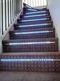 led strip lights for stairs internet enabled interactive stair lights