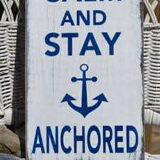 signs and decor keep calm and stay anchored nautical from signs of carova