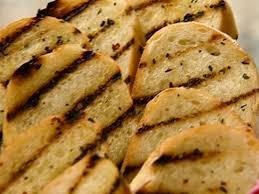 Garlic Bread In Toaster Grilled Cheesy Garlic Bread Recipe The Neelys Food Network