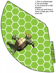 party hat 4 ninja turtles party hats free printable ideas
