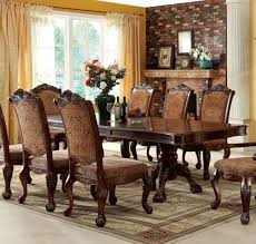 furniture of america cm3103t cromwell traditional antique cherry