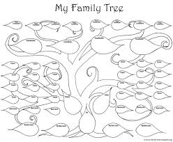 family tree coloring page 28940 bestofcoloring com