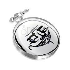 Me Gusta Face Meme - meme face pendant made of steel obsequious me gusta face jewelry