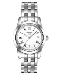 tissot ladies bracelet watches images Tissot women 39 s swiss classic dream stainless steel bracelet watch tif