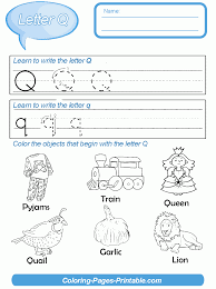 printable preschool letter writing worksheets