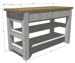 plans for a kitchen island kitchen amusing diy kitchen island plans knockoff wood michaela