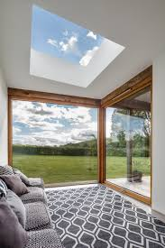 extension enhanced by a fixed rooflight