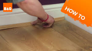 Laminate Floor Edging Trim How To Lay Flooring Part 5 Finishing Touches U0026 Maintenance Youtube