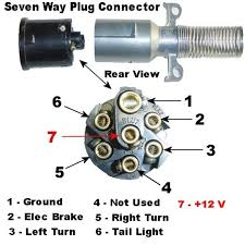 7 way semi trailer wiring diagram wiring diagram and schematic