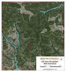 Flood Plain Map Samples Map My Ranch