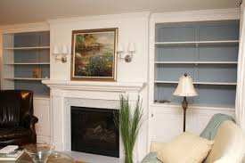 Builtin Bookshelves by Remodelaholic Living Room Remodel Adding A Fireplace And Built