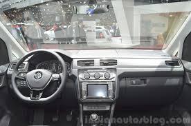 volkswagen minivan 2016 interior 2015 vw caddy 2015 geneva live