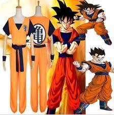 Dragon Ball Halloween Costumes Dragon Ball Costume Ebay