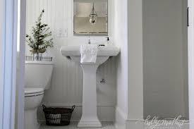 Bathroom With Beadboard Walls by White Beadboard Bathroom Cottage Bathroom Holly Mathis Interiors