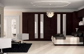 Handleless Overton Wardrobe Doors In Horizontal Melinga Oak Finish - Bedroom cupboard doors