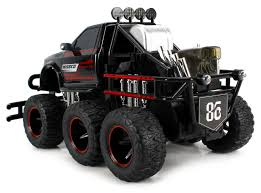 monster jam rc truck amazon com velocity toys speed spark 6x6 electric rc monster