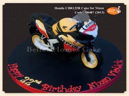 honda cbr 125r honda cbr125r cake cakecentral com