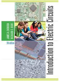 dorf svoboda introduction to electric circuits 9th ed