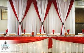 wedding backdrop themes and white fall wedding backdrop and table with lights