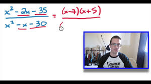 simplifying rational expressions and finding excluded values youtube