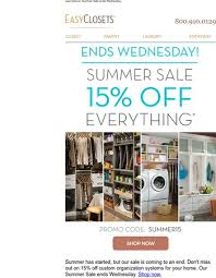 Closetmaid Promotion Code Easyclosets Com Offers From Newsletters