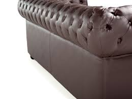 Chesterfield Tufted Leather Sofa by Tufted Leather Sofa Brown Chesterfield