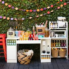 Reception Station Desk by Diy Outdoor Wedding Reception Beverage Station Dinner 4 Two