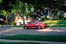lexus awd sports car review 2016 lexus rc 300 awd canadian auto review