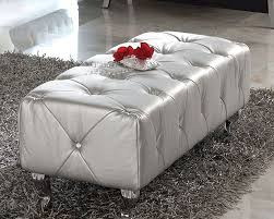 Modern White And Silver Bedroom Bedroom Comfy Silver Bedroom Bench Design With Grey Fur Rug