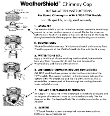 Fireplace Installation Instructions by Volko Fireplace And Chimney Caps Selection Of Chimney Cap