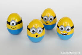 how to make minion eggs