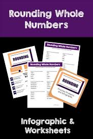 best 25 rounding whole numbers ideas on pinterest math round