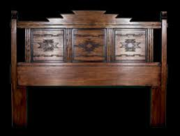 headboard furniture southwest furniture santa fe style