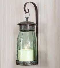 Tin Wall Sconce Colonial Tin Works Quart Jar Hanging Wall Sconce