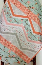 Coral And Mint Bedding Baby Quilt Crib Bedding Rag Quilt Nursery Bedding Baby Quilt
