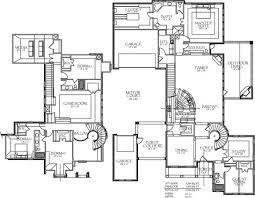 contemporary house floor plans floor plan modern family brilliant modern family house plans