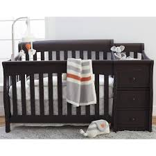 Convertible Cribs With Changing Table by Crib Changing Table Dresser Combo Creative Ideas Of Baby Cribs
