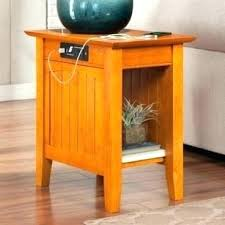 chairside table with charging station chairside table with charging station end table charging station end