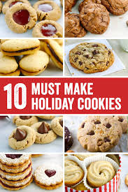roundup 10 festive holiday cookies recipes jessica gavin