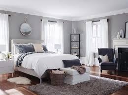 chambre blanche et grise gris perle taupe ou anthracite en 52 idées de peinture murale