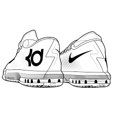 kd 6 color pages kd 6 coloring pages gallery for kd shoe