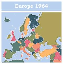 Maps Of Europe by Inspirations Map Of Europe In 1964 By Coralarts On Deviantart