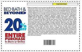 bed bath beyond 20 off bed bath beyond in store coupon gordmans coupon code