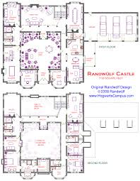 floor plans with courtyards randwulf castle floor plan