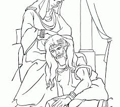 children bible story coloring pages printable model free
