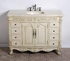 Bathroom Vanities Beach Cottage Style by Bathrooms Design Weathered Wood Vanity Cottage Style Cabinet