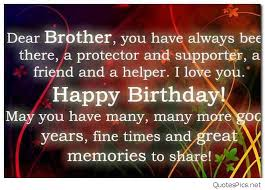 Happy Birthday Wishes To Big Happy Birthday Wishes Texts And Quotes For Brothers
